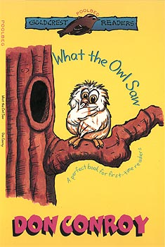 Owls like to stay awake at night and sleep by day.  But Hushy, the baby owl, is too curious for that.  So what does he see while his family are sleeping? A world full of wonderful things!